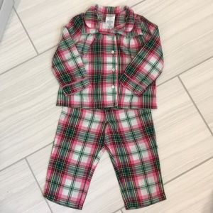 Gap x Pendleton pajama set 2T